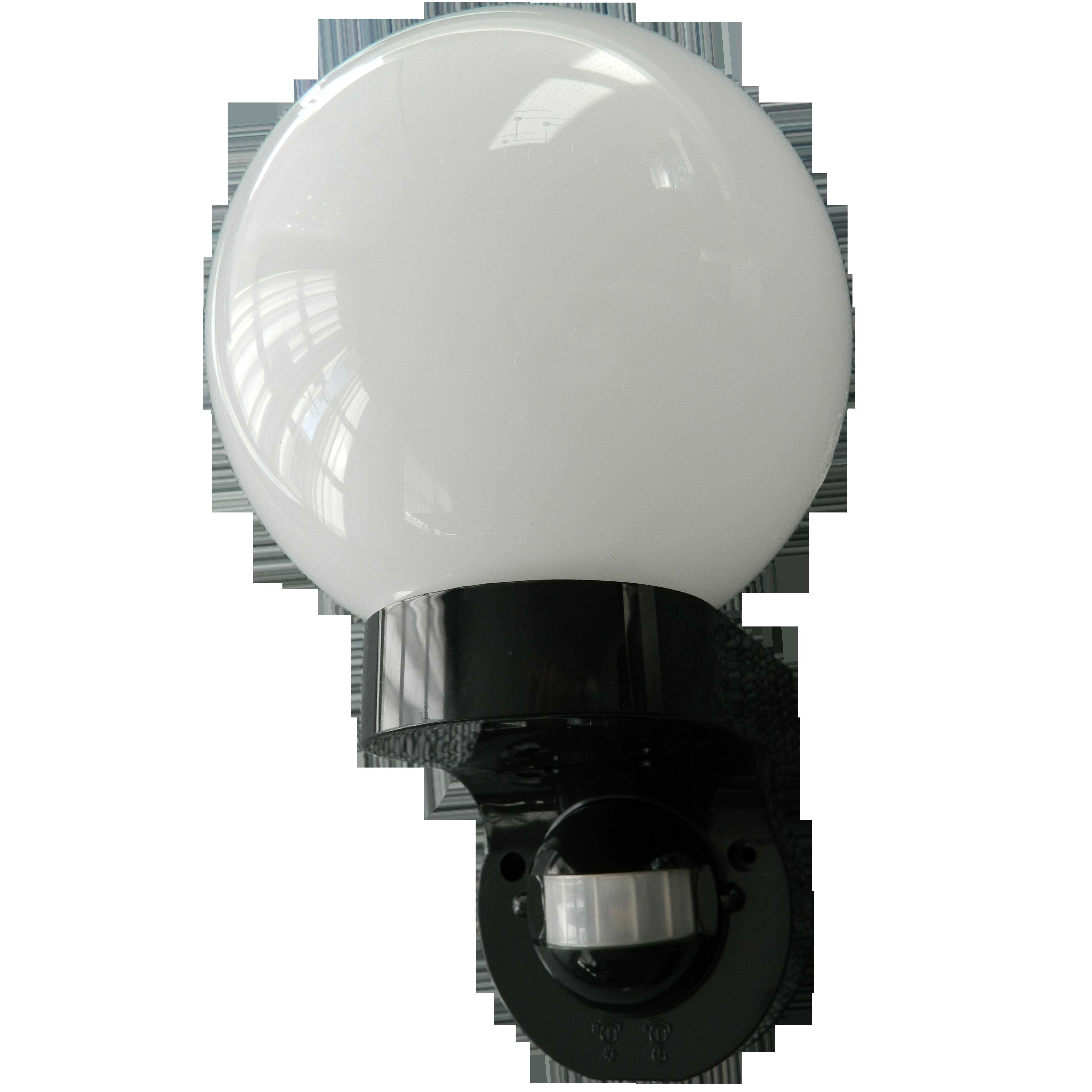 Udendørslampe Glaskuppel